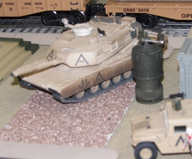 M1A1 Abrams & Electro-Adapter HRDWR