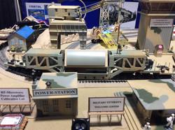 Raytheon AN/TPY-2 Radar on RR Tracks