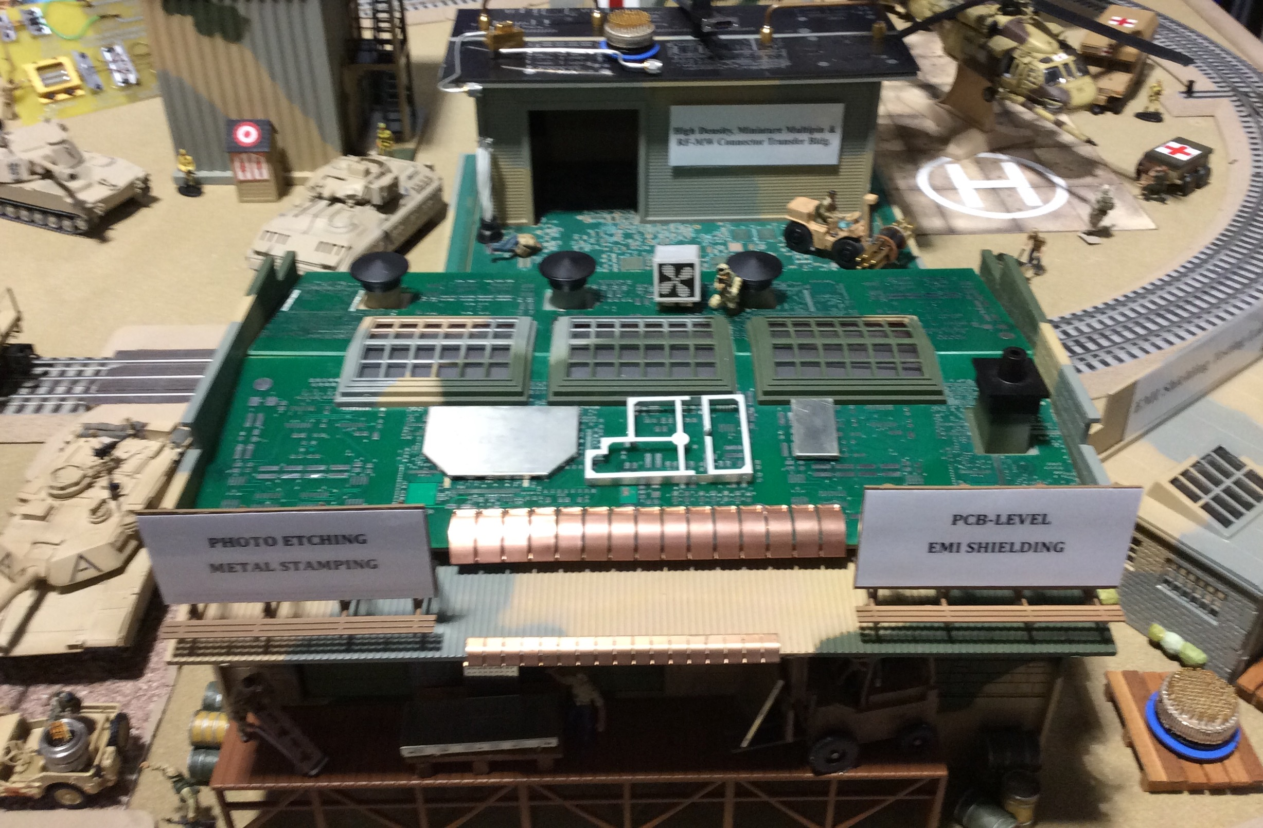 "Metal EMI ""PCB-Roof"" Shields"