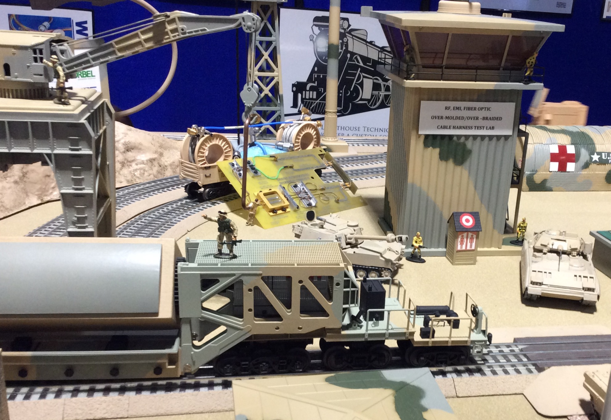 RF-MW PCB ASSY, SMP's & Semi-Rigid