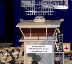 Raytheon AN/SPS-49 Tower-Mount Radar