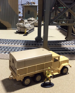 US Army Deuce and a Half 6 x 6 Truck
