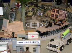 Rail-Mounted Patriot Radar & Missile