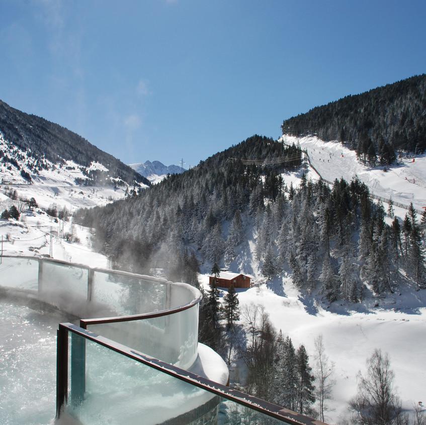 Hermitage Vistes wellness hivern