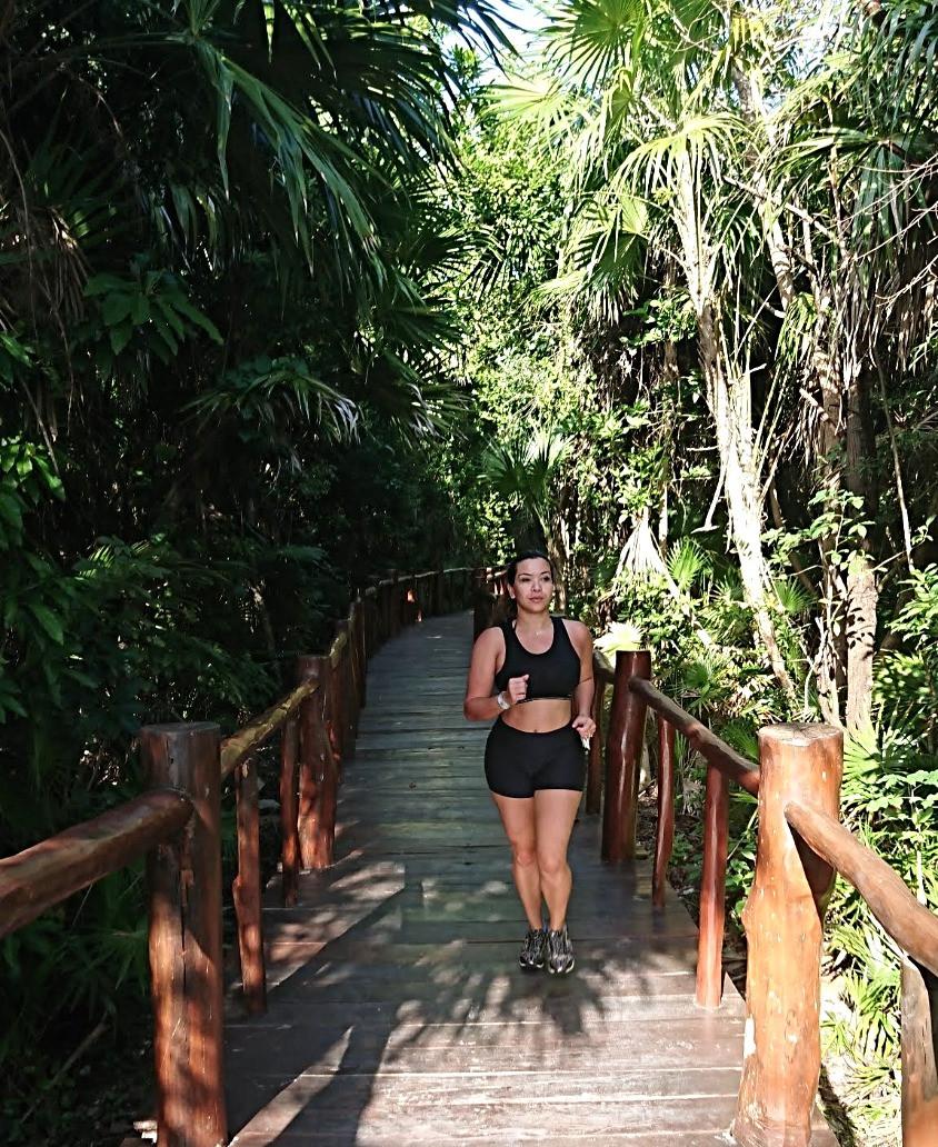 running at trs yucatan hotel