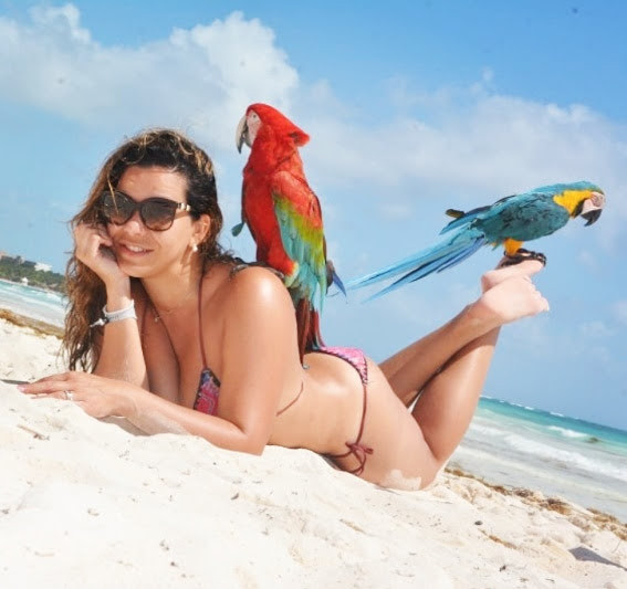 sandy beach, rivieira maya