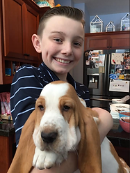 William with Penelope Puppy