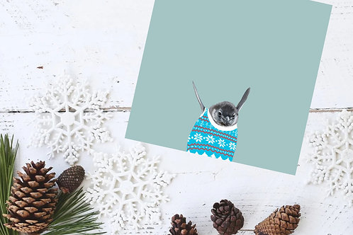 Baby Penguin Holiday Card