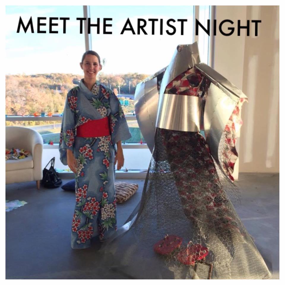 ME & My Kimono Sculpture