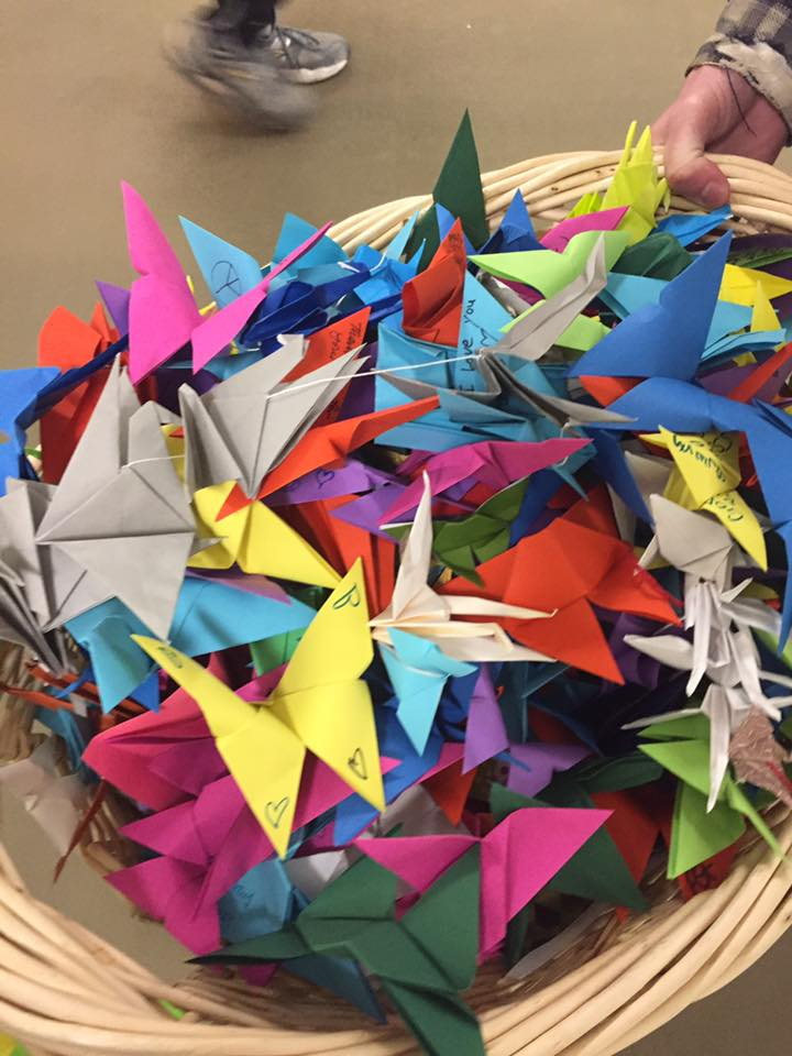 Wings of Hope Origami donations