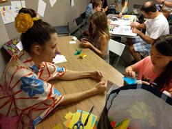 Artomatic Origami kids workshop