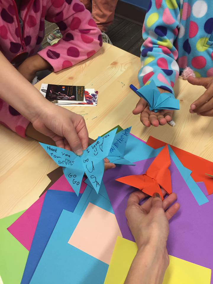 Wings of hope - making butterflies