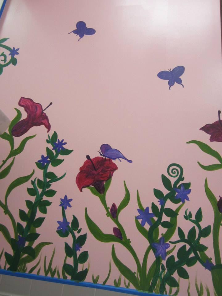 Hope Garden Ballet School Mural