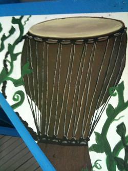 MD Renn Faire - Mini drum mural