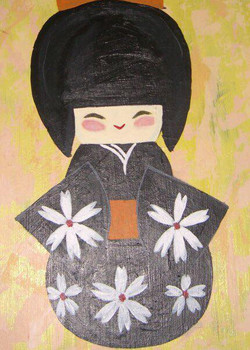 summer kokeshi