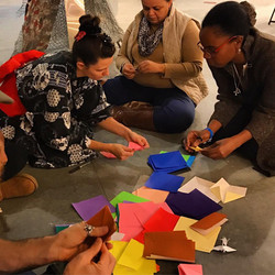 teaching origami park potomac md