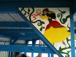 MD Renn Faire - Gypsy mini mural