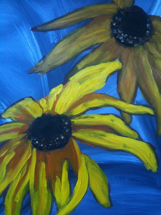 blackeyed susan painting