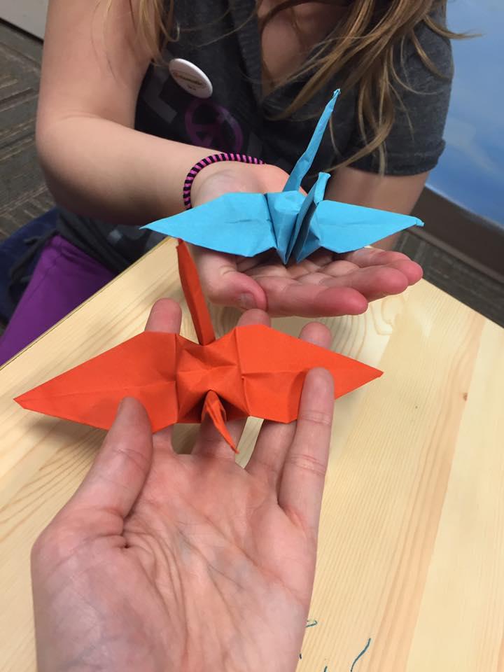 happy cranes