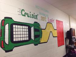 Middle School Progress Chart Mural