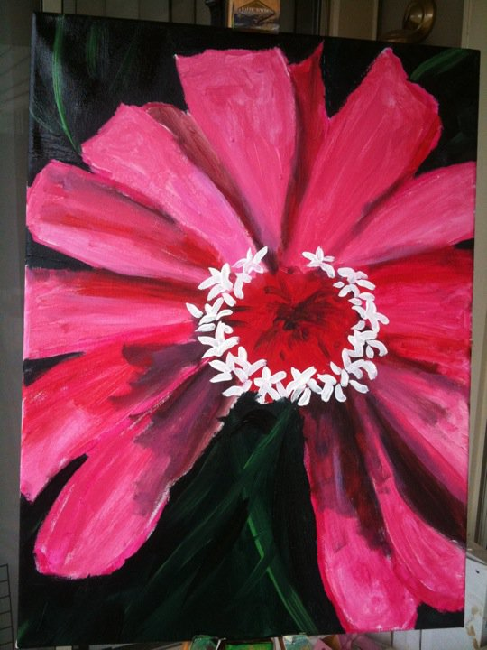 summer flower painting