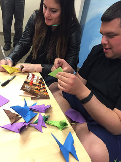 Wings of Hope origami project