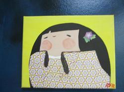 happy kokeshi