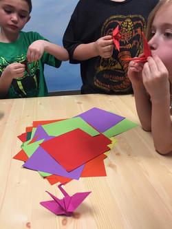 origami lessons Artomatic VA