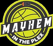 Mayhem in the Plex Logo.png