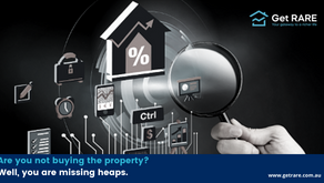 Are you not buying the property? Well, you are missing heaps.