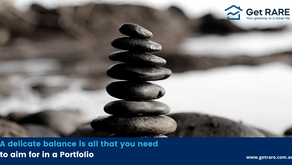 A delicate balance is all that you need to aim for in a Portfolio