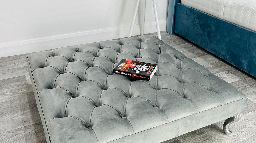 Luxury Large Footstool/Pouffe