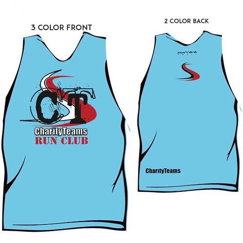 Carolina Blue CT Run Club High Performance Wicking singlet