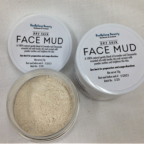Seasplang Beauty Face Mud for Dry Skin