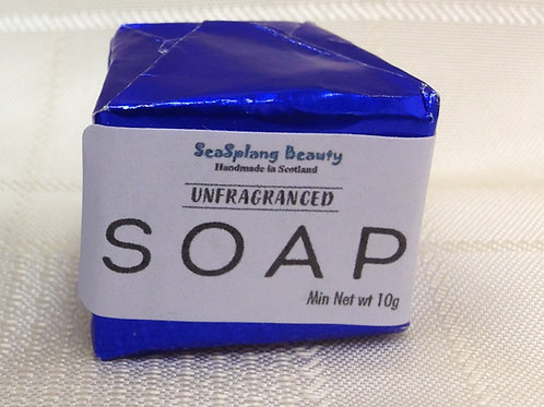 Seasplang Beauty Unfragranced Soap Guest Room Sized