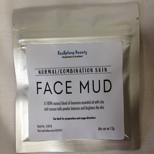 Face Mud for Combination Skin