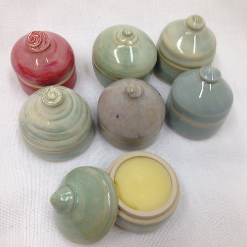 Solid Perfume in ceramic jars