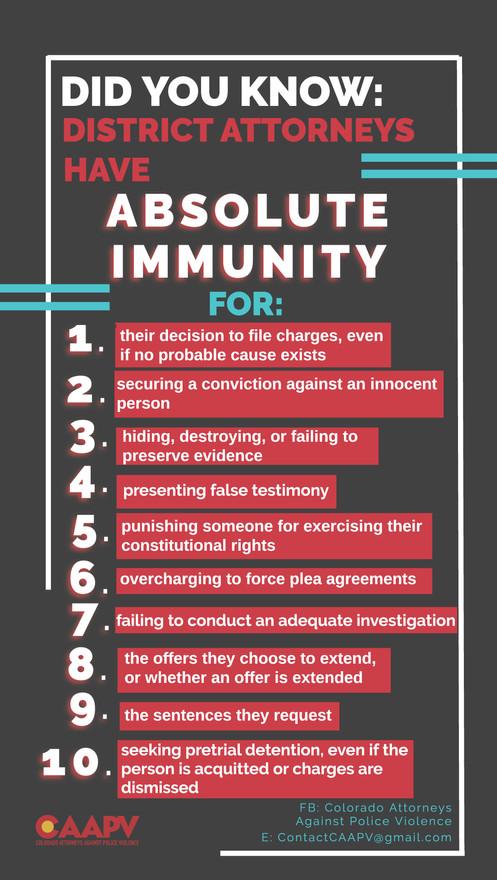DA Immunity