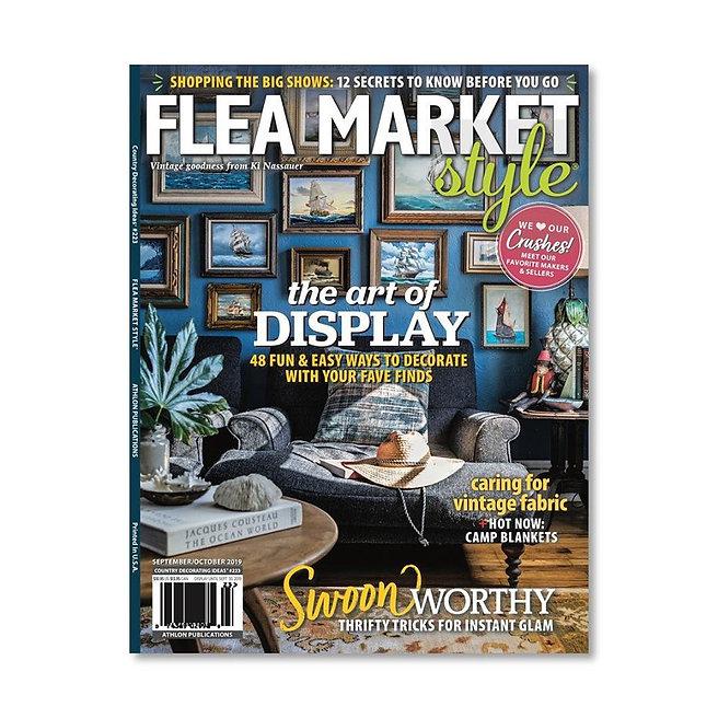 Flea Market Style Cover - Sept - Oct 201