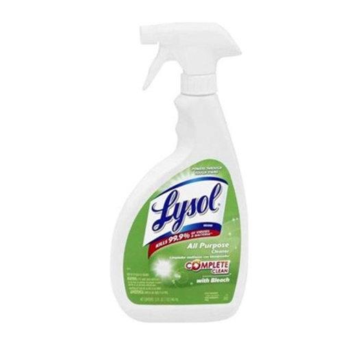 Lysol w/bleach