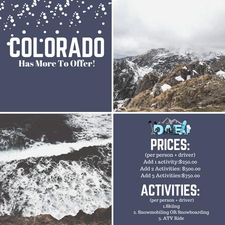 Denver Activity Menu