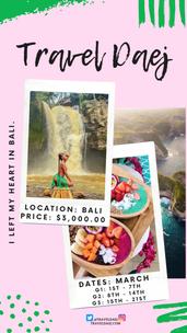 Bali | $3,000