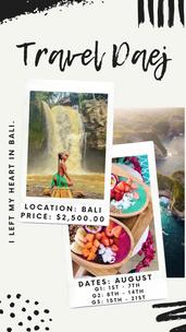 Bali | $2,500