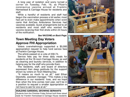 April Newsletter Hot Off the Press