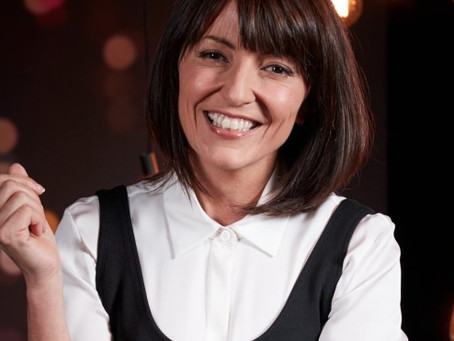 Appearance with Davina McCall