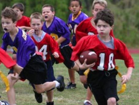 BOYS AND GIRLS FLAG FOOTBALL SIGNUPS