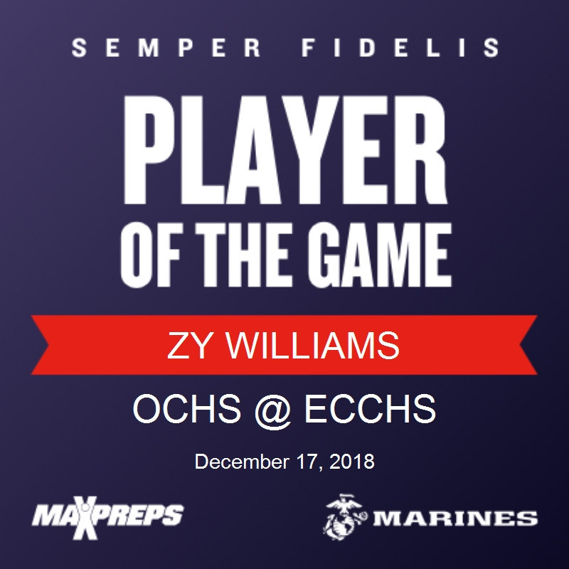 ZY wins player of the game