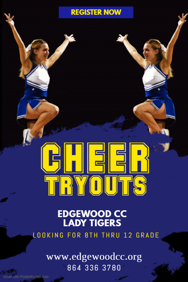 Copy of Cheerleader Tryouts Flyer Templa