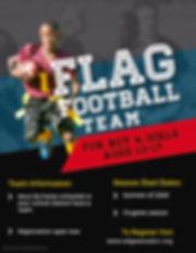 Copy of Flag Football Flyer Templates -