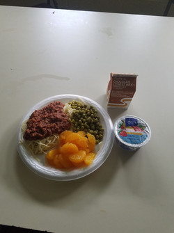 Summer Camp Meal